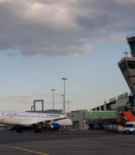 Flying to Helsinki
