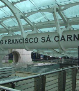 Flying to Porto