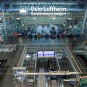 Flying to Oslo