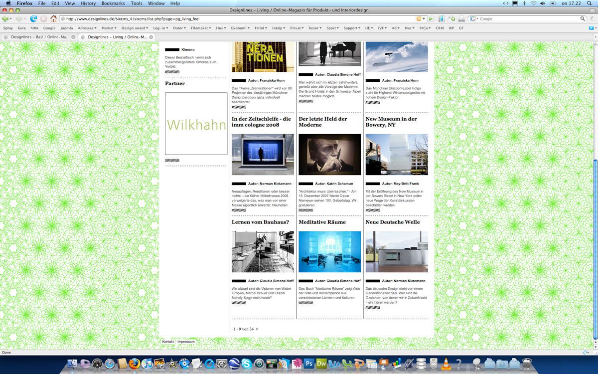 Designlines Design And Interior Online Magazine