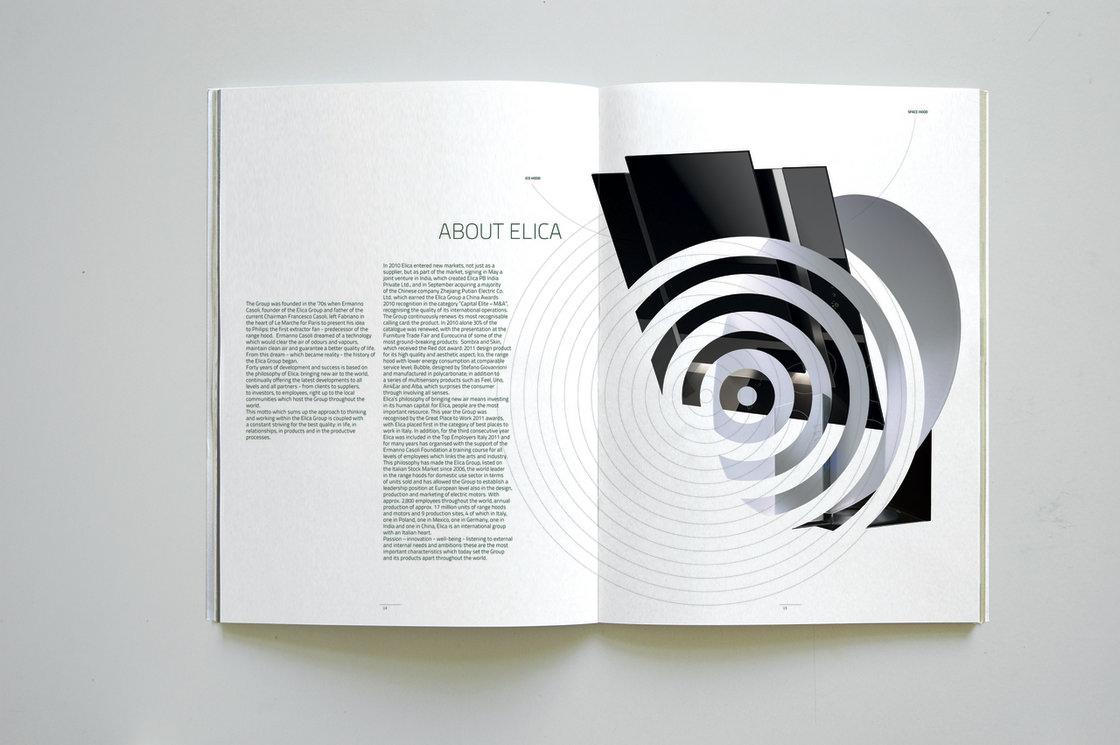 Elica annual report european design for Cappa annua