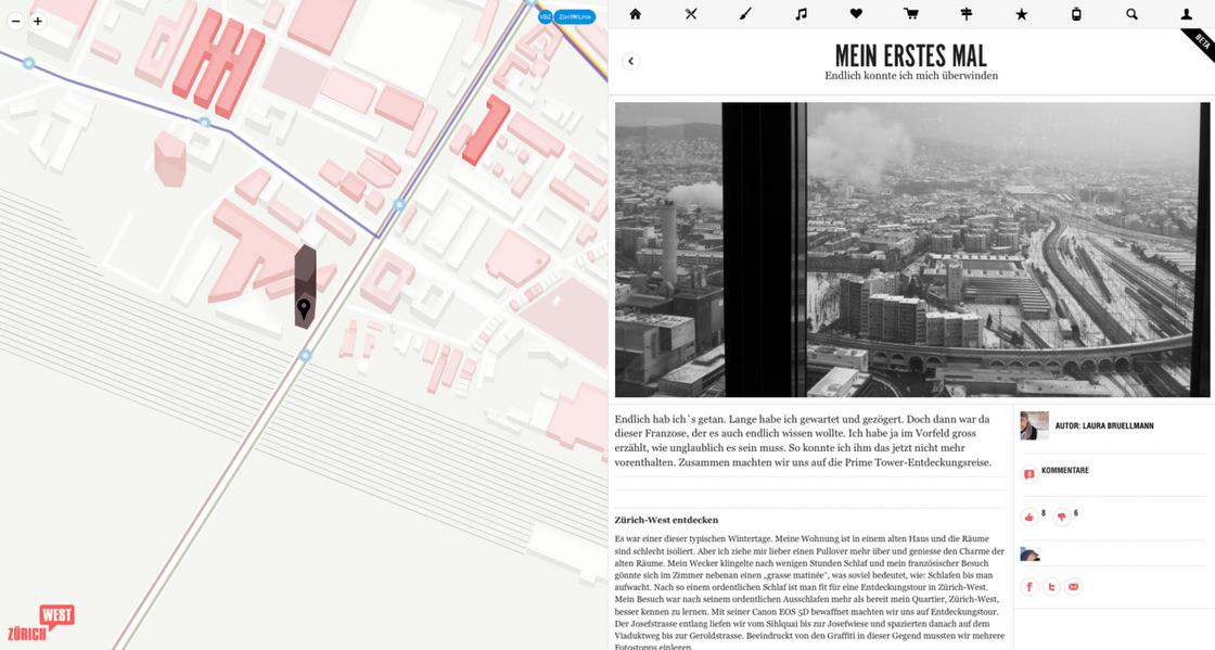 VBZ Westnetz – European Design