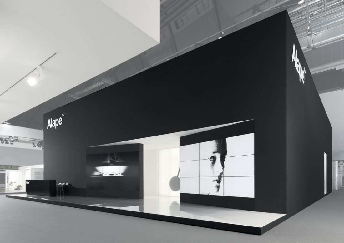 Exhibition Stand Rules : Alape exhibition stand european design