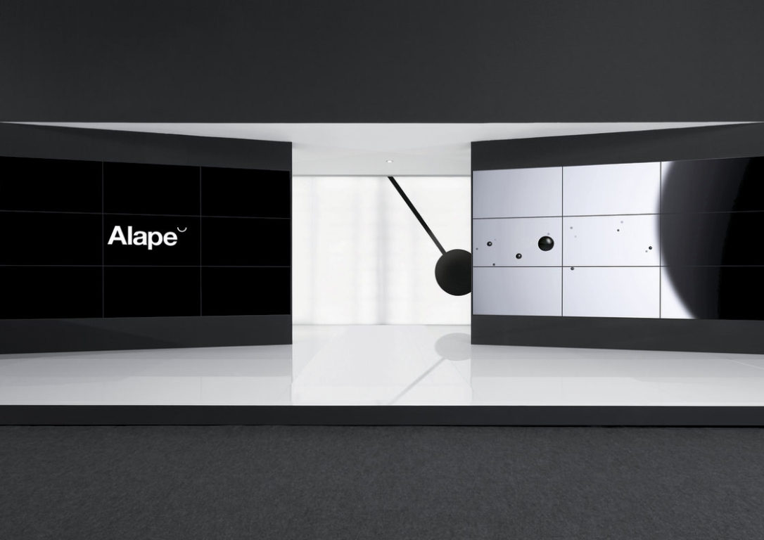 Exhibition Stand Design Small : Alape exhibition stand european design