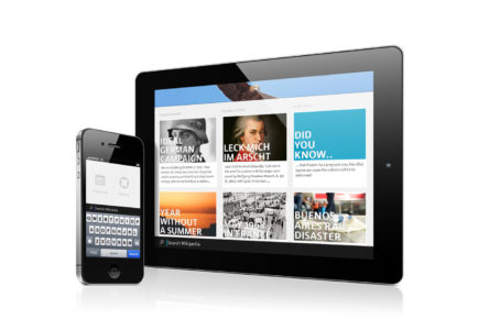 Redesigning Wikipedia for mobile & tablet