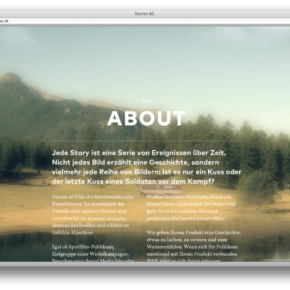 Stories Website