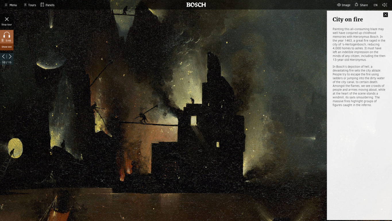 Interactive Documentary Hieronymus Bosch The Garden Of Earthly Delights European Design