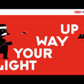 Light Your Way Up - Visual identity illustrations